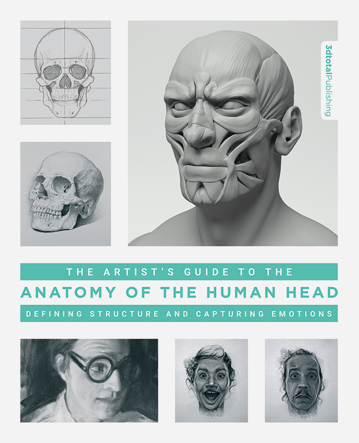 The Artists Guide To The Anatomy Of The Human Head 3dtotal Publishing